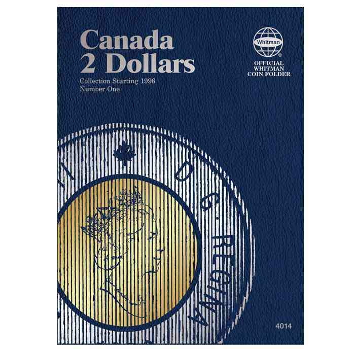 Canadian Toonies Folder Starting 1996 By Whitman Publishing (COR)